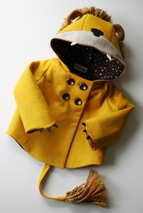 Felt Lion Coat