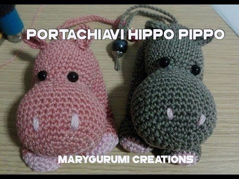 Tutorial mini Draghetto Amigurumi - Portachiavi ad uncinetto (sub ... | 360x480