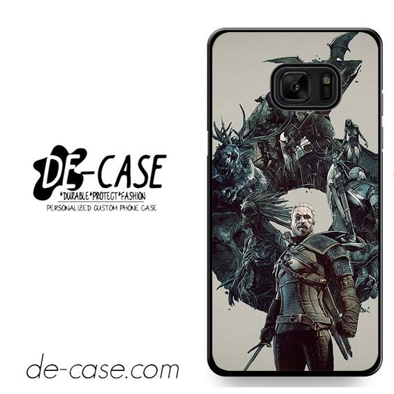 Witcher 3 Wild Hunt Geralt DEAL-11964 Samsung Phonecase Cover For Samsung Galaxy Note 7