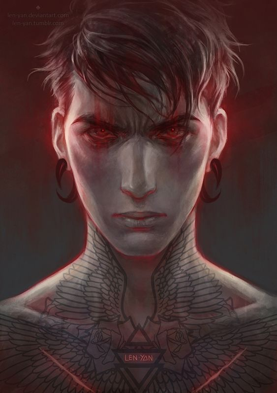 tumblr || drawcrowd || artstation || behance || facebook || instagram i decided to revisit an old sketch. stronger colour, stronger emotion. the tattoo is recycled from an older...