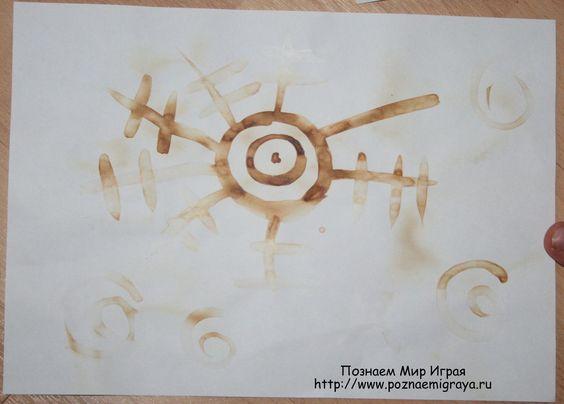 рисование молоком из серии простые эксперименты с детьми познаем