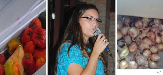 Escola sem merenda é marca registrada de Mayra em Prado