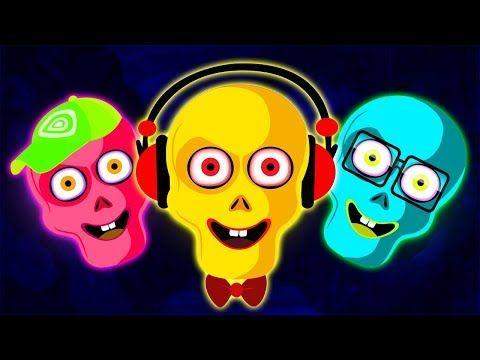 Familia De Esqueletos De Colores Y Más Canciones Infantiles Con Len Y Mini Pueblo Teehee Youtube Canciones Infantiles Mini Canciones