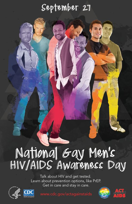 we marked National Gay Men s HIV AIDS
