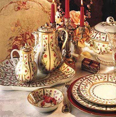 Bernardaud Roseraie China Pattern Beautiful Tables