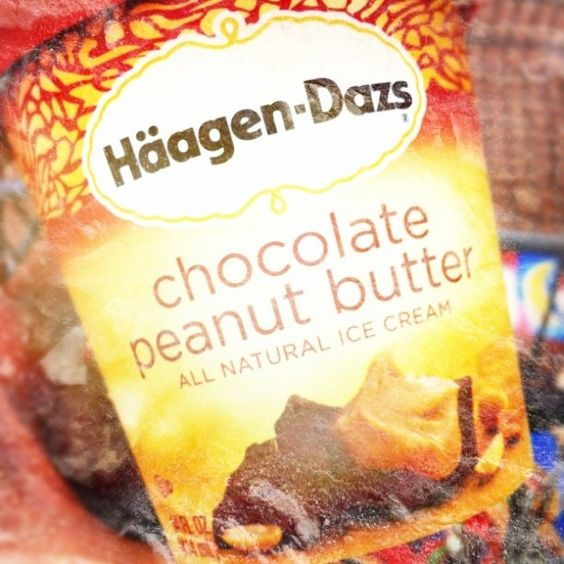 Haagen-Dazs Chocolate Peanut Butter. Can you tell what I am craving right now?