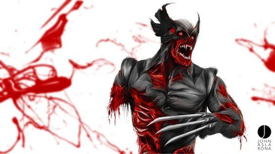 Zombie Wolverine by John Aslarona