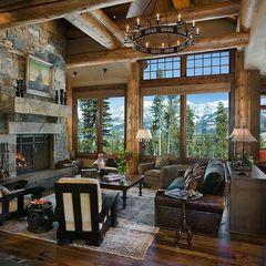 eclectic living room by Design Associates - Lynette Zambon, Carol Merica                                            love this living room