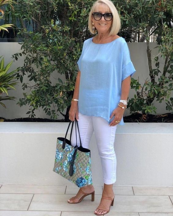#fashionforwomenover50over50over40 #womensfashionover60summer