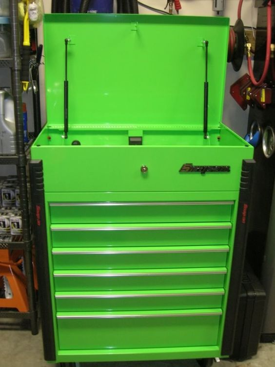 Green Snap Tool Box Roll Cart Indiana Craft Studio