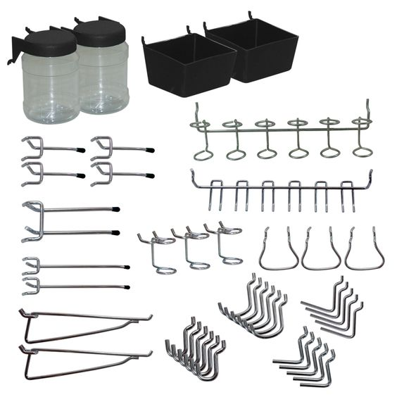 Shop Blue Hawk Metal Pegboard Organizer Kit $12