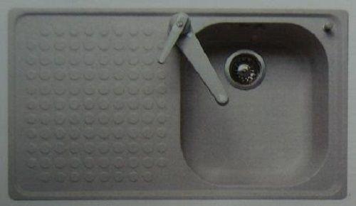 FRANKE-BELINOX Spüle Einbauspüle 120 x 50 cm Weiss BECKEN-LINKS - küchen spülbecken granit