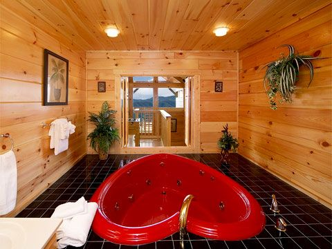 Honeymoon Cabins - Tennessee Smoky Mountains | Gatlinburg Pigeon Forge. Wow I wanna go just for a week looks relaxing # Pin++ for Pinterest #