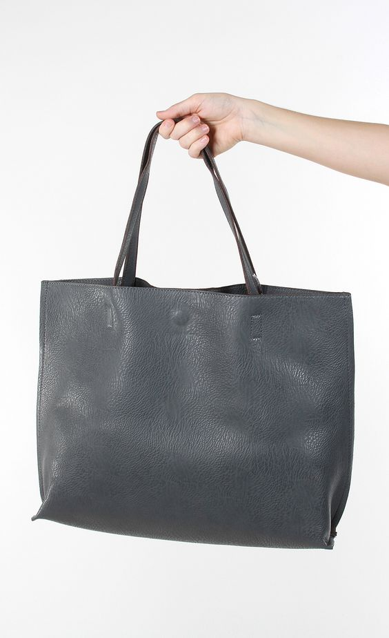 Downtown Babe Tote - Grey