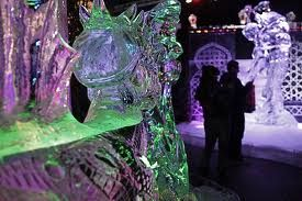 Resultado de imagem para escultura em gelo