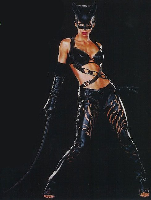 "Actress Halle Berry as Catwoman/Patience Philips  in ""Catwoman"" movie."
