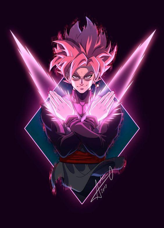 Goku Black Super Saiyan Rose Dragon Ball Goku Dragon Ball Super