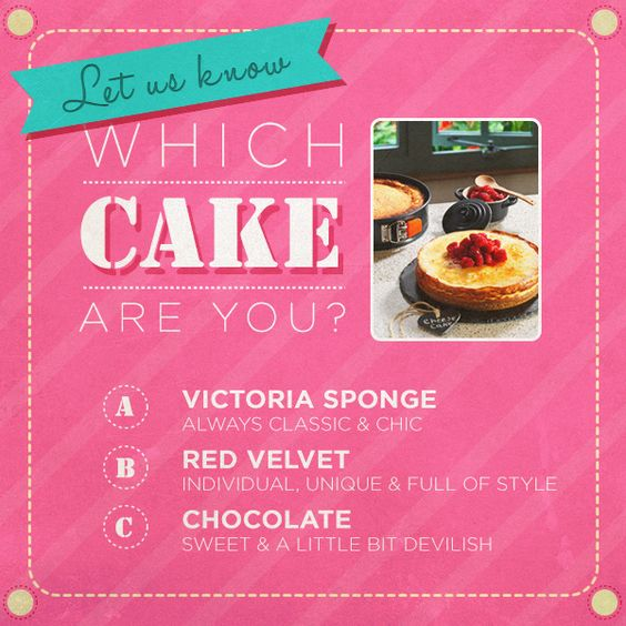 Which sweet treat are you?: