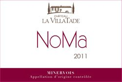 """December 17th - Chateau La Villatade NoMa Minervois 2011. This delicious Minervois, made predominately from Grenache, is produced organically """"sans papiers"""" with just the smallest amount of sulphur added prior to bottling to stabilise the wine. What does this mean? Purity and freshness."""