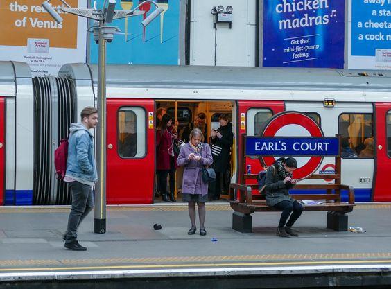 Street View, instant de vie. LONDON - Fev 2016