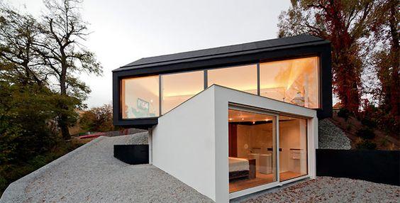 Small house by fabi architekten homemydesign pinterest small
