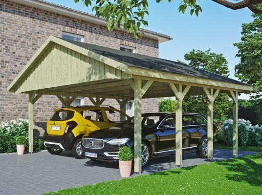Carport Abri Voiture Carport Alu Ossature Bois Direct Abris En 2020 Ventilation Naturelle Abris Voiture Bois Abri Camping Car