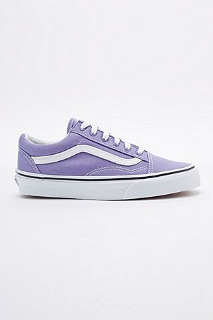 vans old skool purple background