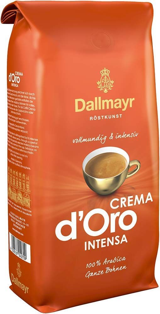 Dallmayr Kaffee Crema D Oro Intensa Kaffeebohnen 1kg