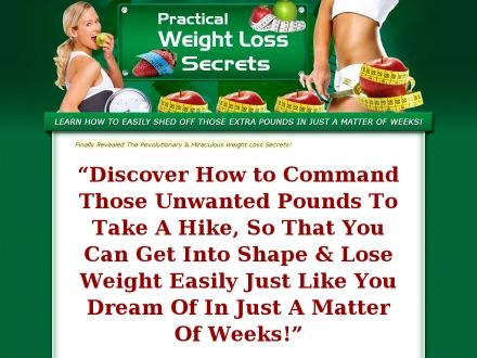 A Perfect Guide With Reveals The Secret Of Weight Loss