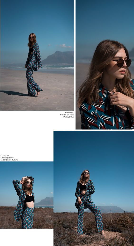 Editorial South Africa : CO Optical by MISTER SPEX - OFFWHITESWAN