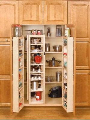 Rev A Shelf Large Swing Out Pantry Natural 4wsp18 57 Tall Kitchen Cabinets Pantry Cabinet Kitchen Storage