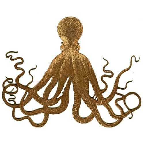 Sea Creatures, Craft Laser Cut Wood MDF Octopus