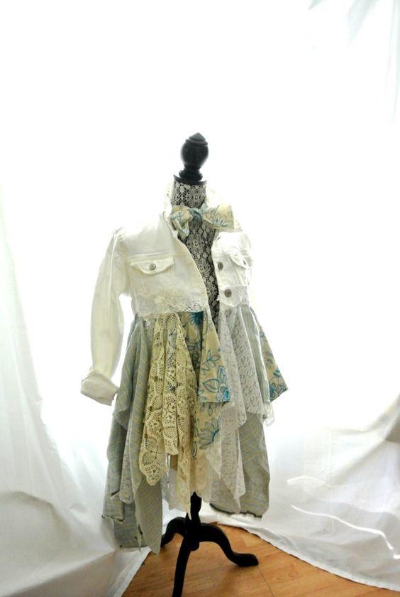 SALE Gypsy vagabond coat bohemian jacket boho by TrueRebelClothing, $115.00