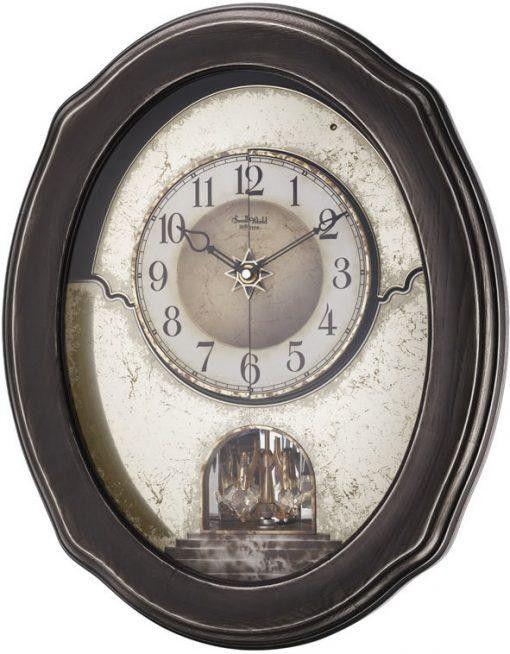 Timecracker Vintage Magic Motion Clock By Rhythm In 2020 Vintage Wall Clock Wall Clock Clock