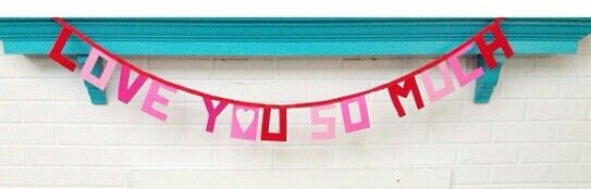 {love you so much banner}