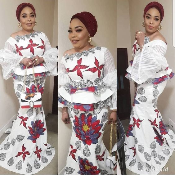 2020 Latest Ankara Skirt And Blouse Styles For Beautiful Ladies African Fashion Ankara African Fashion Ankara Skirt And Blouse