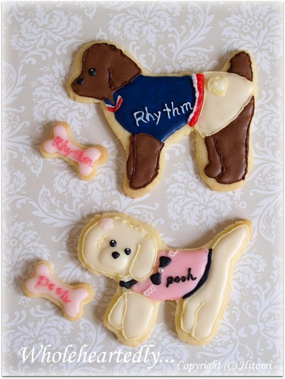 puppy cookies by Hitomi