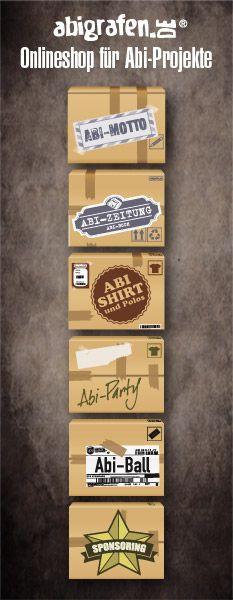 Unterstützung mit vielen Tipps, Vorlagen und Produkten: #Abizeitung #Abishirts #Sponsoring #Abimotto #Abiball #Abiparty