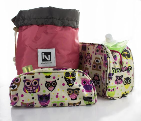 NEW Make-up bags from All In Packaging