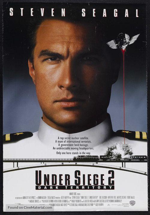 Under Siege 2 Dark Territory 1995 U S Movie Poster 6 In 2020 Full Movies Online Free Movies Online Free Movies Online