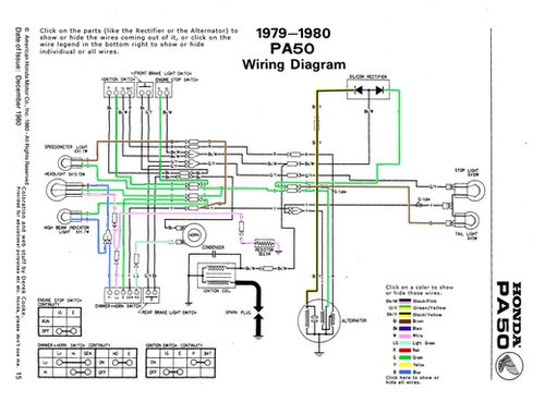 975d506f6cb6fc4816c24fefa40c9925 led lamp hobbit awesome interactive diagram of the honda hobbit pa50 wiring 1978 honda pa50 wiring diagram at gsmx.co