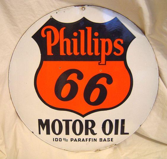 Phillips 66 hds vintage motor oil