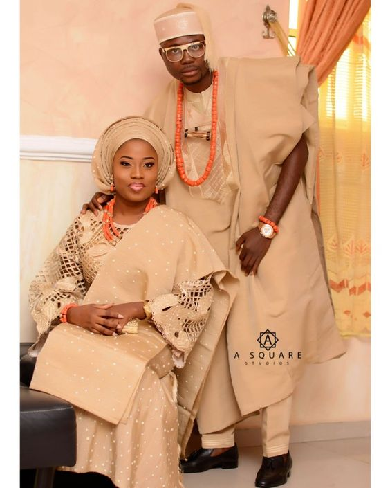 10 Best Agbada Styles For Couples (JULY 2018)