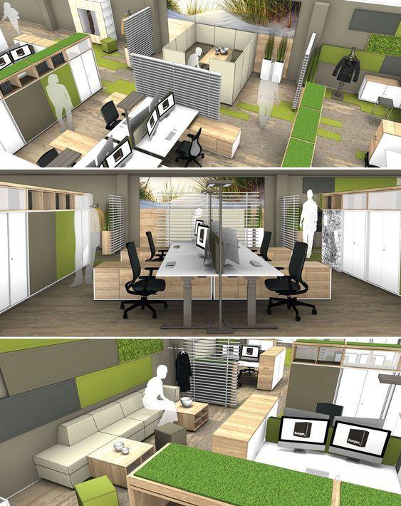 Render Sketchup Projeto Corporativo Blocos 3d Para Projeto De