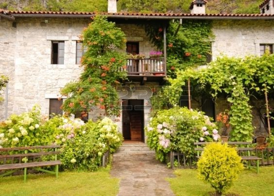 Pretty Cottage Gardens | ... -for-modern-idyllic-stone-rural-house-with-pretty-cottage-garden.jpg