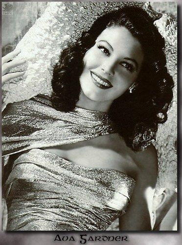 eva gardner In my opinion the most beautiful woman ever.