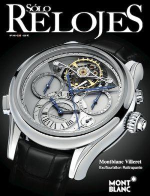 Aquí tienes la última revista de Solo Relojes, donde podrás encontrar las últimas novedades del mundo de la Alta Relojería. Hablamos del fabuloso Montblanc Villeret Exotourbillon Rattrapante (en portada), de las seductoras novedades de Roger Dubuis para este año... ¡Y mucho más!