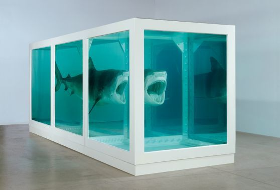 The impossibility.... Damien Hirst