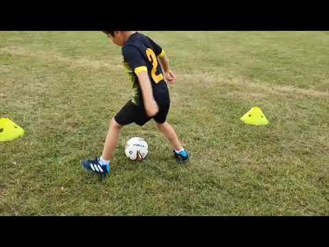 Social Distancing Football Training 03 Dribbling Shooting Races For U7 U8 Session Highlights Youtube In 2020 Football Training Soccer Drills Football
