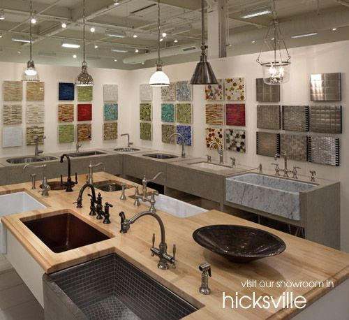 Hicksville kitchen showroom kitchens ckc showroom for Kitchen design showroom